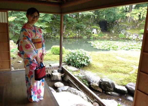 秋の連休に着物で金沢観光