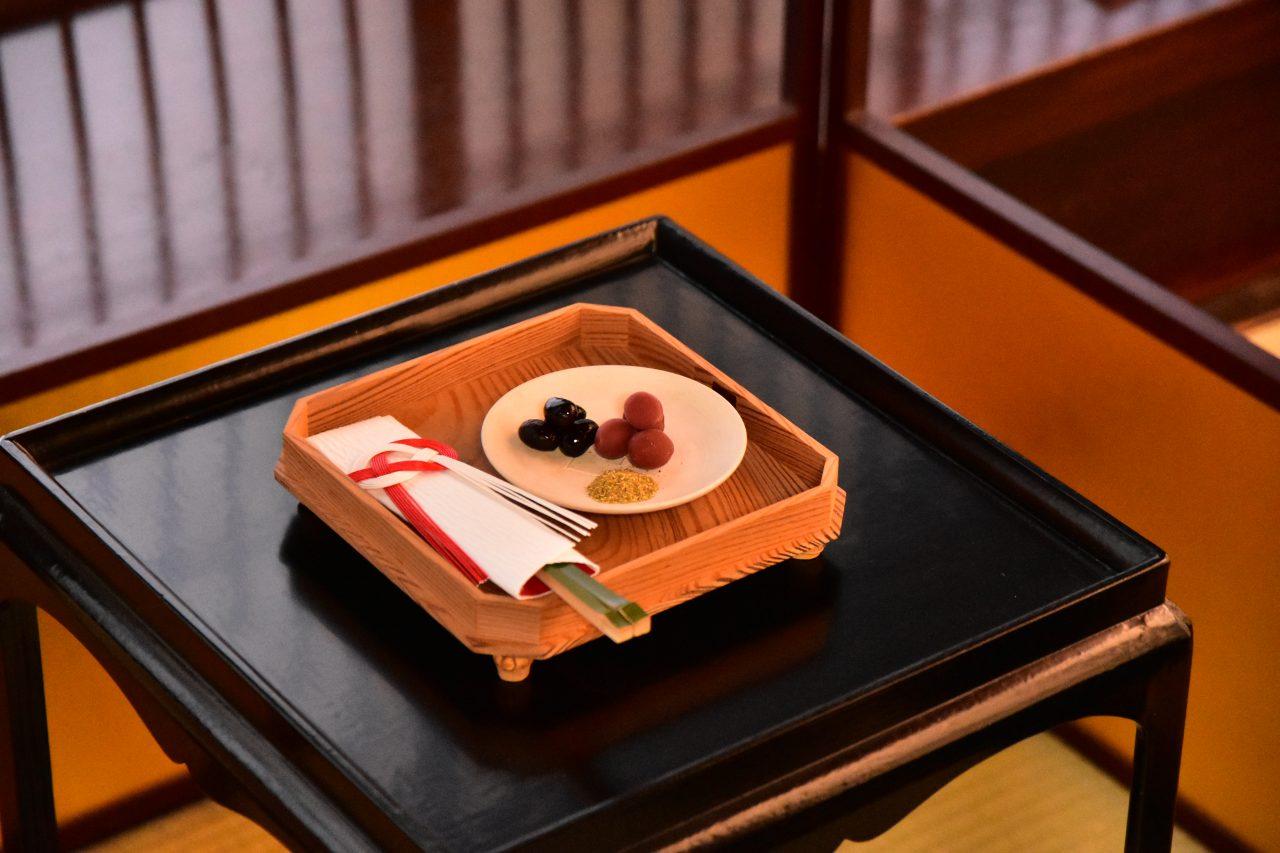 上田宗箇流「大福茶会」at 応挙館