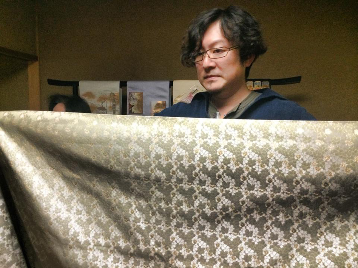 Evolving Tradition in Japan #1  錦の伝統織物作家・当代 龍村周(たつむら あまね)氏